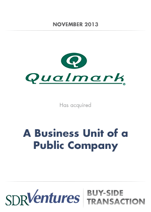 Qualmark - Buy-Side Transaction