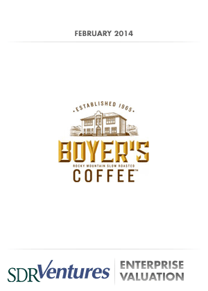 Boyer's Coffee - Enterprise Valuation
