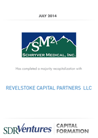 Schryver Medical Capital Formation