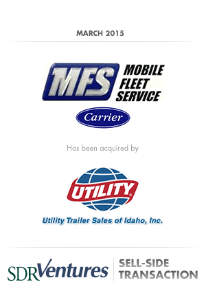Mobile Fleet Service - Sell-Side Transaction