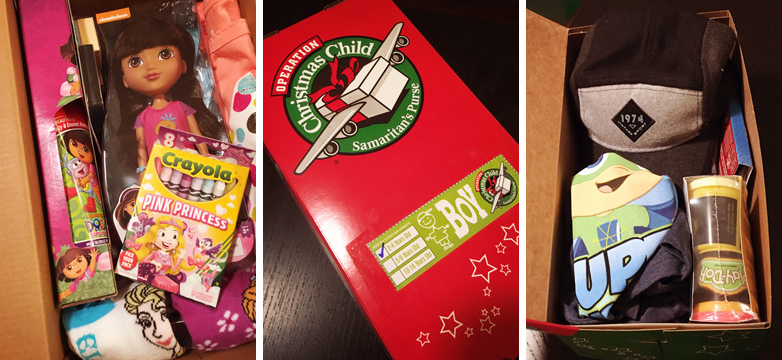 SDR Volunteer Day: Operation Christmas Child - Gifts