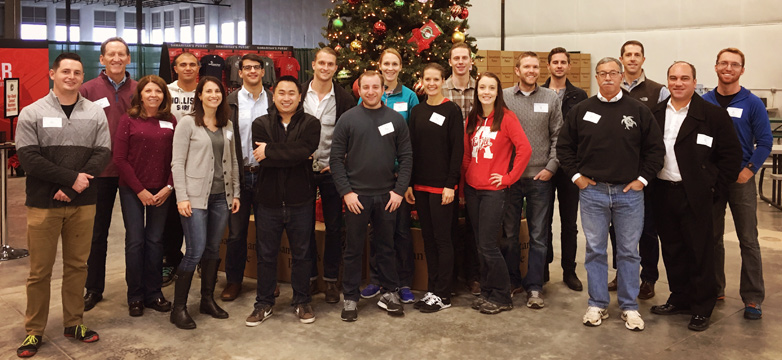 SDR Volunteer Day: Operation Christmas Child - Group