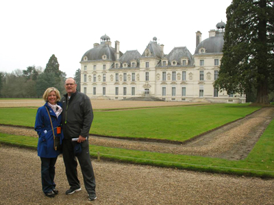 Andy and Barb in Europe