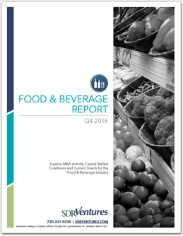 Q4 2016 Food & Beverage Report