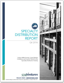 Q4 2016 Specialty Distribution Report
