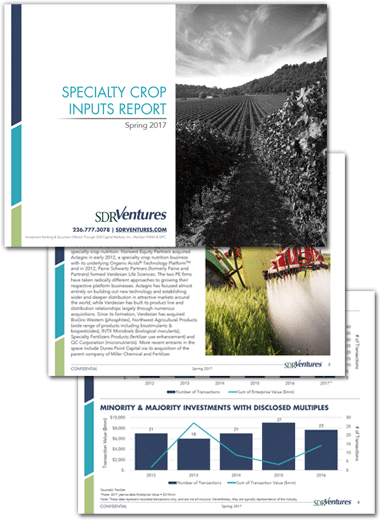 Specialty Crop Inputs Report