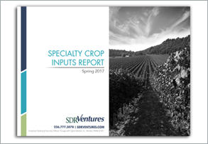 Specialty Crop Inputs Report - Spring 2017