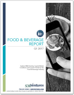 Q1 2017 Food & Beverage Report
