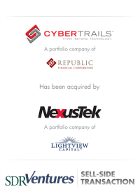 CyberTrails - Sell-Side Transaction