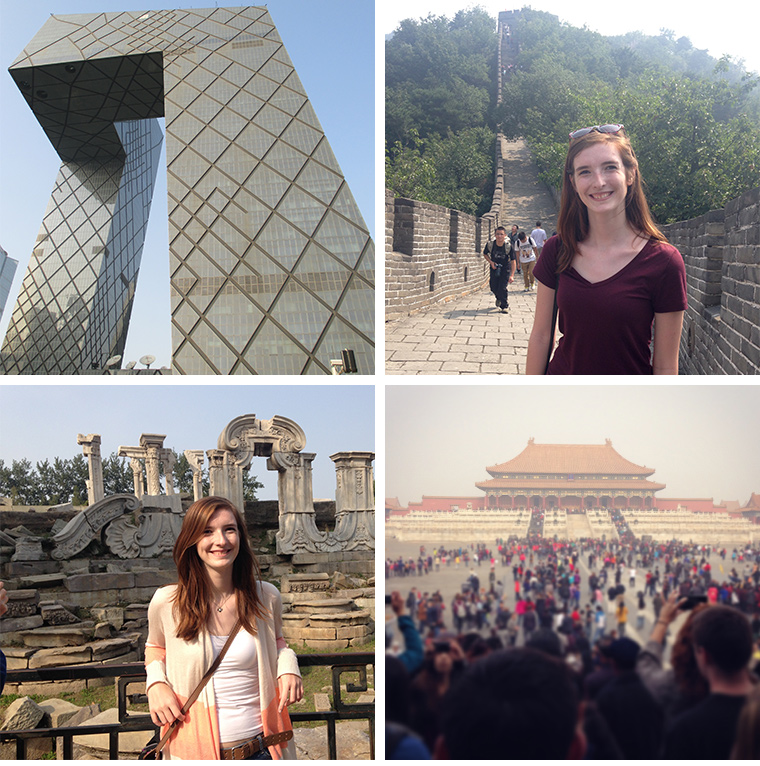 CCTV Building, Great Wall, Old Summer Palace and Forbidden City