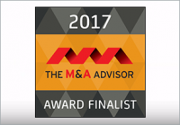 2017 M&A Advisor Awards Finalist